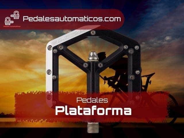 pedales plataforma