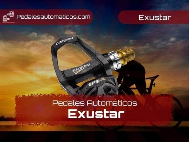 pedales Exustar